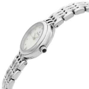 Bulova Diamond Petite Classic 24mm Stainless Steel Quartz Ladies Watch 96P122
