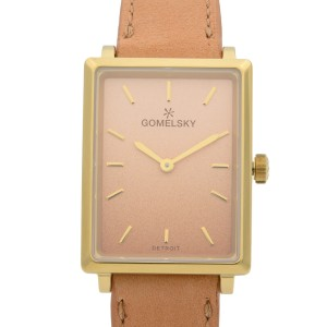Gomelsky Shirley Fromer Steel PVD Cream Dial Quartz Ladies Watch G0120147281