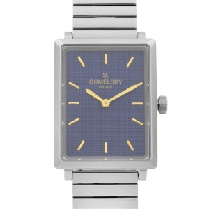 Gomelsky Shirley Fromer Steel Blue Dial Quartz Ladies Watch G0120067028