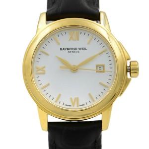 Raymond Weil Tradition Steel White Roman Dial Quartz Ladies Watch 5376-P-00307