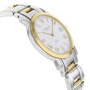 Raymond Weil Saxo Two Tone Ion Plated Steel Quartz Unisex Watch 9521TT/GR