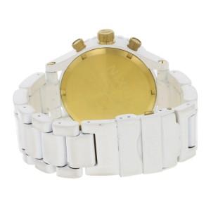 Nixon Minimize  42-20 Chronograph White Dial Rotating Bezel Steel Mens Watch
