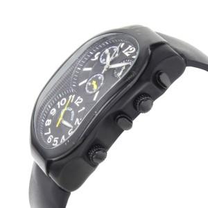 Philip Stein Signature Chronograph Black  PVD Steel Quartz Mens Watch 3B-NBY-RB