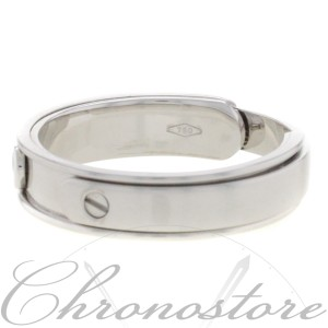 18K White Gold, 14K Rose Gold Diamond Wedding Ring Size 12.5