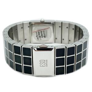 ESQ Movado Roxanne Black MOP Dial Steel Quartz Ladies Watch 07101156