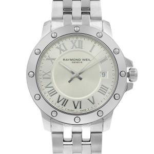 Raymond Weil Tango Steel Silver Roman Dial Quartz Mens Watch 5599-ST-00658
