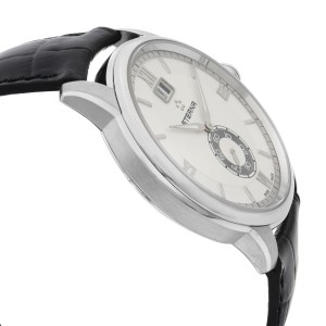 Eterna Adventic Stainless Steel SIlver Dial Quartz Mens Watch 2971.41.66.1327