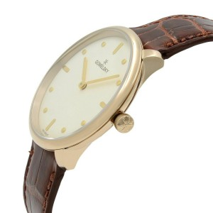 Gomelsky Audry Gold Tone Steel White Dial Quartz Ladies Watch G0120112284