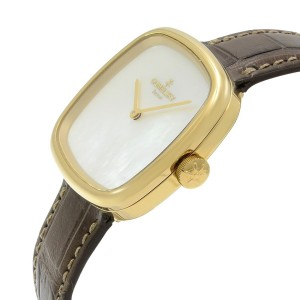 Gomelsky Eppie Sneed Gold Tone Mother of Pearl Dial Ladies Watch G0120072881
