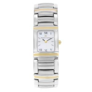 Maurice Lacroix Miros Integral Two Tone 18K Gold Steel Ladies Watch MI2012-YS10