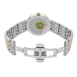 Movado Esperanza Two Tone Stainless Steel Quartz Ladies Watch 607058