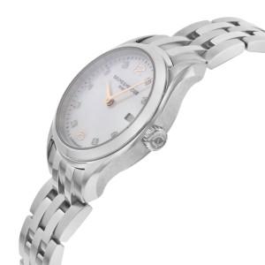 Baume & Mercier Clifton MOP Diamond Dial Steel Quartz Ladies Watch MOA10176