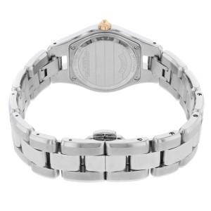 Baume et Mercier Linea Steel Gold Plated Silver Dial Quartz Ladies MOA10079