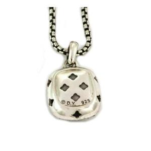 David Yurman Albion Diamond & Citrine Sterling Silver Pendant & Chain Necklace