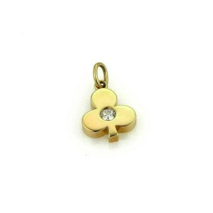 Hearts on Fire HOF Diamond Club 18k Yellow Gold Charm