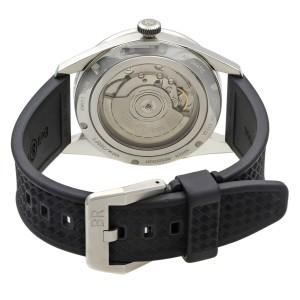 Bell & Ross GMT Steel Black Arabic Dial Automatic Mens Watch BRV123-BL-GMT/SRB
