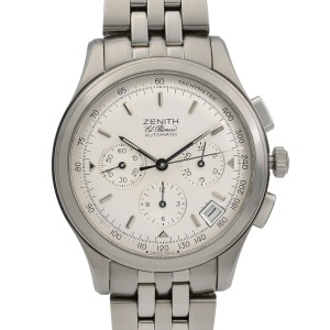 Zenith El Primero Steel Silver Dial Automatic Mens Watch 02.0501.400/01.M501