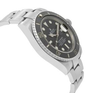 Rolex Submariner Date Black Dial Cerachrom Bezel Steel Mens Watch 116610LN