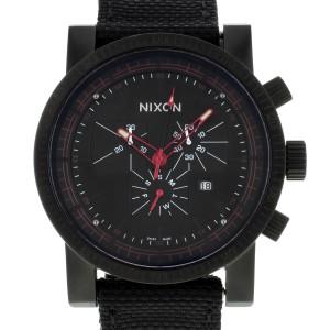 Nixon The Magnacon Black Dial Stainless Steel Quartz Mens Watch A079001-00