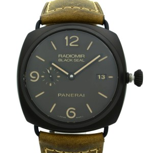Panerai Radiomir Composite Black Seal 3 Day Black Dial Mens Watch PAM00505