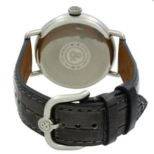 Bell & Ross Steel Argentium Ruthenium Dial Hand Wind Watch BRWW1-ME-AG-RU/SCR