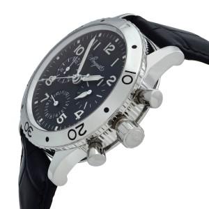 Breguet Type XX Aeronvale Steel Black Dial Automatic Mens Watch 3800ST/92/9W6