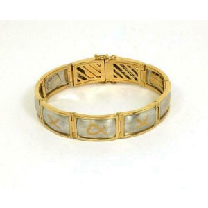 Tiffany & Co. Picasso Platinum & 18k Yellow Gold Bracelet