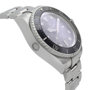 Rolex Sea-Dweller Deepsea Steel Ceramic Black Dial Automatic Mens Watch 126660
