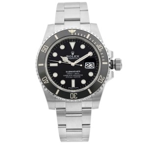 Rolex Submariner 40mm Date Stainless Steel Black Dial Mens Watch 116610LN