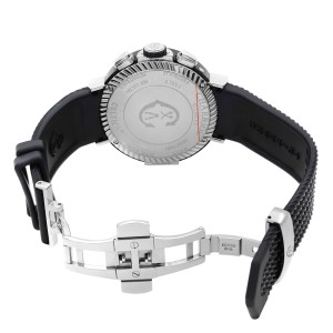 Charriol Celtica Day Date Month Steel Silver Dial Quartz Mens Watch C44B.173.005
