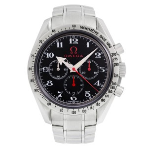 Omega Speedmaster Olympic Collection Timeless Black Dial Mens Watch 3557.50.00