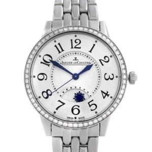 Jaeger-LeCoultre Rendez-Vous Steel Diamond Silver Dial  Ladies Watch Q3448120