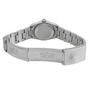 Rolex Datejust 31mm No Holes Steel White Roman Dial Midsize Watch 68240