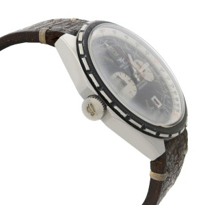 Vintage Breitling Navitimer Chrono-Matic Black and White Dial Mens Watch 1806