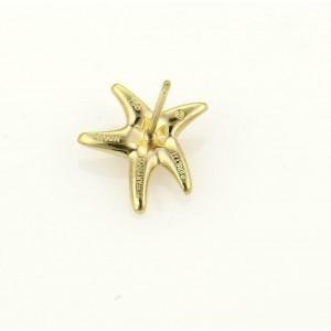 64514 Tiffany & Co. Peretti 18k Yellow Gold Starfish Stud Earrings