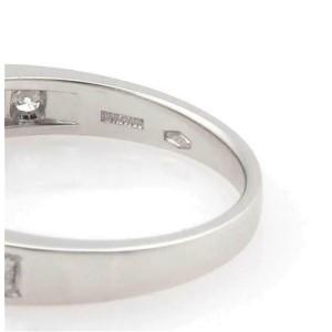 Bvlgari B Zero.1 Element Diamond 18k White Gold Drop Charm Band Ring