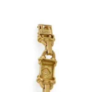 Seidengang 1.15ct Diamond 18k Yellow Gold Fancy Bar Link Bracelet