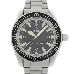 Vintage Omega Seamaster 300 Steel Black Dial Automatic Mens Watch 165.024