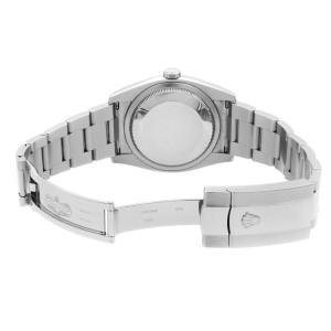 Rolex Datejust Roulette Date 36mm Steel Black Dial Automatic Mens Watch 116200