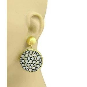 Gurhan VENUS Moonstone 24k Gold & Sterling Large Dangle Earrings Rt. $5,950