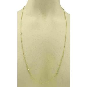 Tiffany & Co. Peretti Diamond By The Yard 18k Gold Toggle Necklace