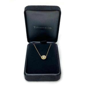 Tiffany & Co. Enchant Diamond 18k Rose Gold Platinum Floral Pendant