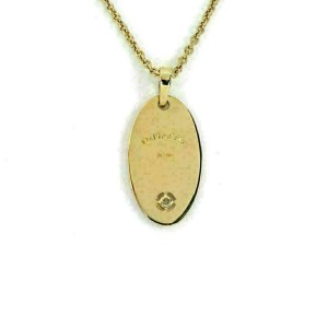 Di Modolo Falco Diamond 18k Yellow Gold Oval Pendant