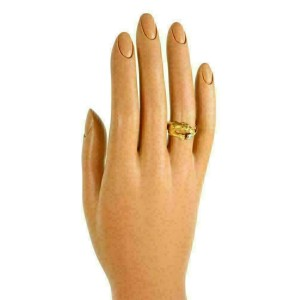 Carrera y Carrera Diamond 18k Yellow Gold Panther Ring Size 5.5
