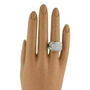 Carrera y Carrera Diamonds 18k White Gold Dolphin Ring