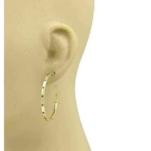 Ippolita Glamazon Stardust Deep Pink Sapphire 18k Yellow Gold Hoop Earrings