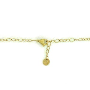 Marco Bicego Lunaria 18k Yellow Gold Oval Pendant