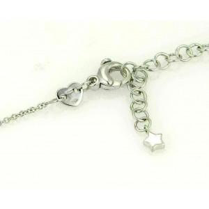 Pasquale Bruni 5.05ct Smokey Quartz Cross Pendant Necklace in 18K White Gold