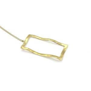 Ippolita Window 18k Yellow Gold Open Wave Pendant