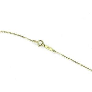 Tiffany & Co. Diamond Platinum 18k Gold Mini Cruciform Cross Pendant
